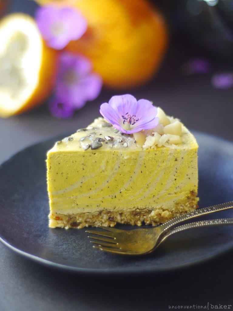Delicious vegan cake